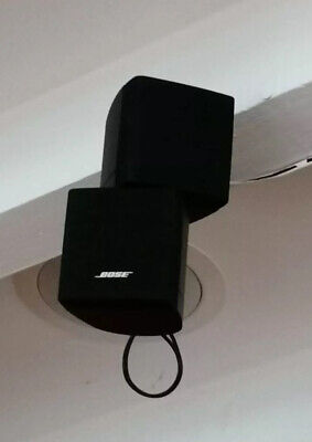 Bose Acoustimass 10 Series IIl - 5x Double Cube Speakers, Brackets & Sub Woofer • 750£