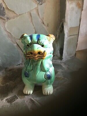 Chinese Lion Foo Dogs Pair • 25£