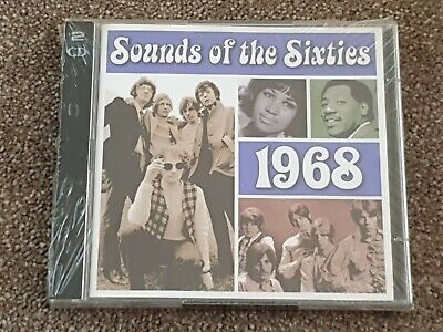 Sounds Of The Sixties 1968 2xCD Time Life Music - Still Sealed *SUPPORTS NHS  • 9.99£