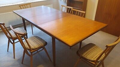 G Plan Mid Century Extending Dining Table - Must Go By 20th January ! • 160£