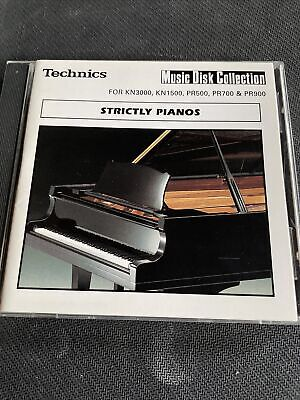 TECHNICS GA3. EA5 PR307 Series. 60 New Styles Intros Ends Fills STRICTLY PIANOS • 2£