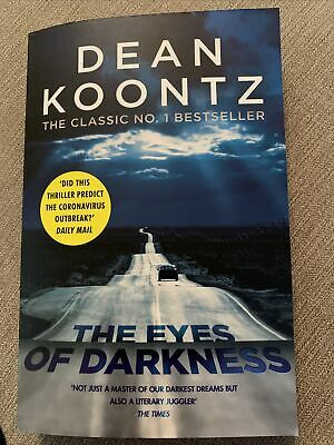 New Book - The Eyes Of Darkness By Dean Koontz (Paperback, 2016) • 7£