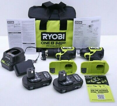 RYOBI PSBCK01K Brushless Compact 1/2 In Drill And Impact Driver BRAND NEW No Box • 94£