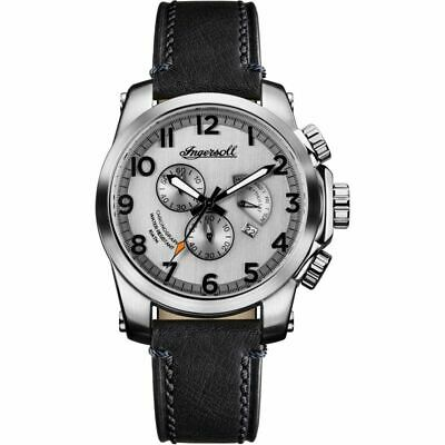 Mens Ingersoll The Manning Chronograph Watch I03002 Ex/ Demo No Box • 149.99£