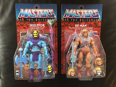 $237 • Buy Masters Of The Universe Classics He-Man & Skeletor Ultimate Edition Super7