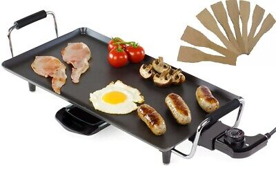£28.95 • Buy Large Teppanyaki Grill Table Electric Hot Plate Bbq Griddle Camping 2000w