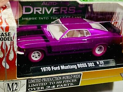 $ CDN95.69 • Buy M2 Machines Auto-Drivers 1970 Ford Mustang BOSS 302 R25 SUPER CHASE🔥VHTF🔥1/500