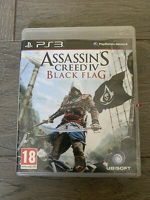 Assassins Creed IV Black Flag (Sony PlayStation 3) PS3 Game • 0.99£