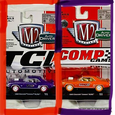 $ CDN51.02 • Buy M2 Machines Auto-Drivers TCI & COMP 1969 Chevrolet Camaro SS/RS R43 & R60🔥LOT-2