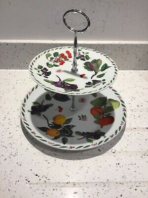 New In Box 2 Tier Cake Stand • 9£