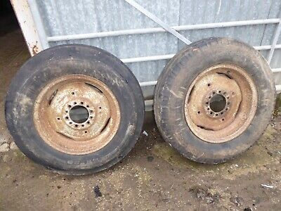 Ford NH Tractor Front Wheels & Tyres 18  X 7.50 2WD • 35£