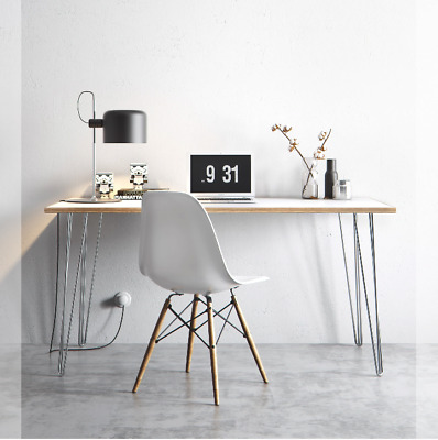 White Top Chrome Legs - Scandinavian Style - DESK TABLE 150cm X 75cm • 249£