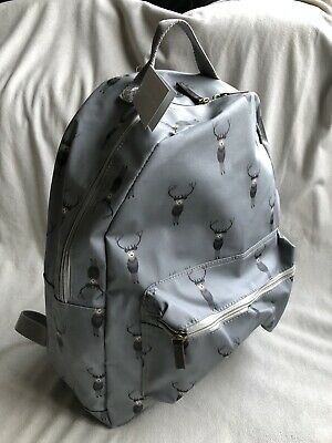 Sophie Allport Large Stag Rucksack,oilcloth Backpack,brand New With Tags • 24.99£
