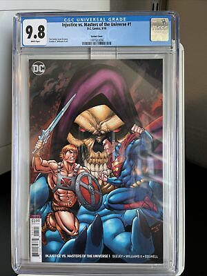 $75 • Buy Injustice Vs Masters Of The Universe #1 CGC 9.8 He-Man Vs Superman