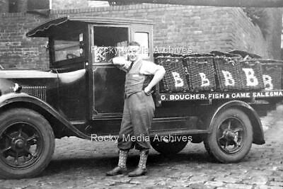 Vsa-27 G Boucher Fish & Game Salesman, Lorry, Lincolnshire. Photo • 3.25£