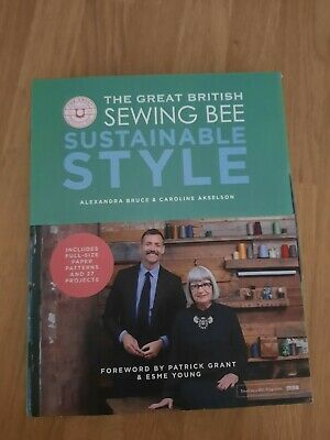 The Great British Seeing Bee Substainable Style Book - New - With Patterns • 8£