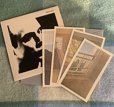 BRIAN ENO - Before And After Science & Set Of Prints 1977 UK 1ST PRESSING EX/VG+ • 37£