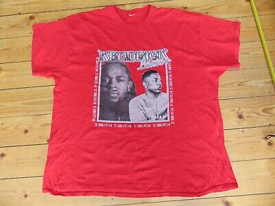 Kendrick Lamar Red Over Sized T Shirt • 7£