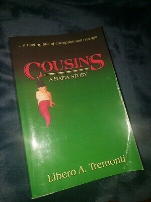 Cousins - A Mafia Story SIGNED AUTOGRAPHED Italian Mob Trade Paper Back Book • 28.35£