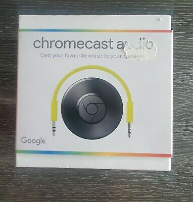 AU55.89 • Buy Google Chromecast Audio- Black