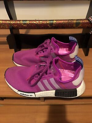 AU45 • Buy Womens ADIDAS NMD R1 STLT Primeknit Hot Pink Trainers Runners US 6 UK 4.5