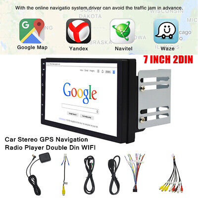 $141.95 • Buy Double 2DIN 7  Android 9.1 Car Stereo GPS Navigation Radio MP5 Player WIFI FM