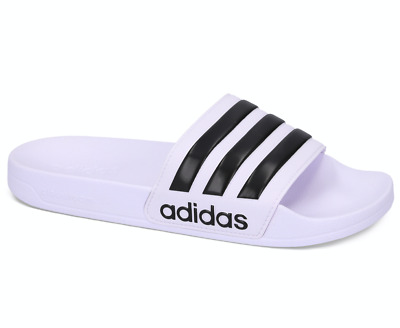 AU39.99 • Buy Adidas Adilette White Black White Unisex Slides Flip Flops Slippers Sandals