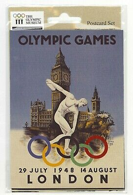 £5.99 • Buy LONDON 2012 - POSTCARD SET - 5 Collectable Designs  Olympic Official Merchandise