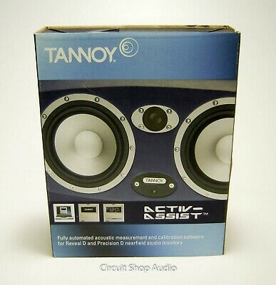 Tannoy Activ-Assist Calibration Software / Mic For Reveal D/ Precision D Monitor • 28.96£