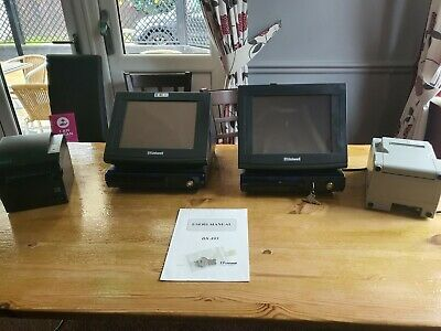 Uniwell EPOS SYSTEM INCLUDING 2 X495 TILLS, 2 THERMAL PRINTERS, 1 TILL DRAWER, • 650£