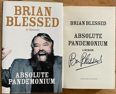 Brian Blessed Absolute Pandemonium Hand Signed Autographed Uk Hardback Book • 6£