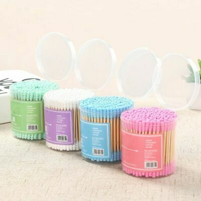 $ CDN7.92 • Buy Bamboo Cotton Swabs Wood Sticks Double Headed Cleaning Of Ears Cotton Q Tips Kit
