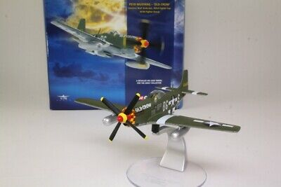Corgi AA32201; P51D Mustang Fighter; Old Crow, Bud Anderson; Excellent Boxed • 22£