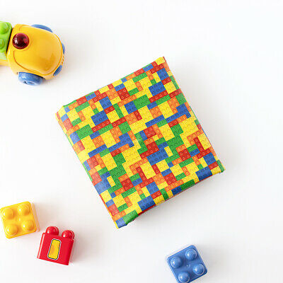 Laminated Cotton Fabric By The Yard Block Fabric 39  Wide CM Color Block  • 10.85£