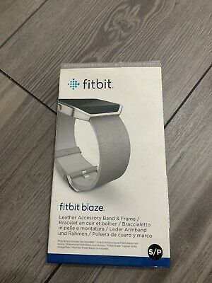 $ CDN20 • Buy New Fitbit Blaze Accessory Leather Band Small Mist Grey With Frame- No Tracker