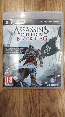 PS3 Assassin's Creed 4 Black Flag  Playstation 3 Game PS3 • 2.99£