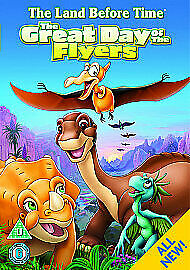 £2.97 • Buy DVD THE LAND BEFORE TIME - THE GREAT DAY OF THE FLYERS * KIDS New Sealed *
