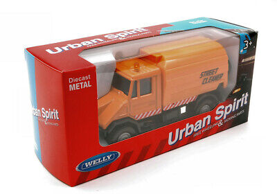 Model Vehicles Diecast Street Cleaner CM 11 Truck Lorry Game • 6.97£