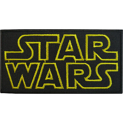 Star Wars Patch Embroidered Badge Iron Sew On Clothes T Shirt Bag Jeans Cap Hat • 2.79£