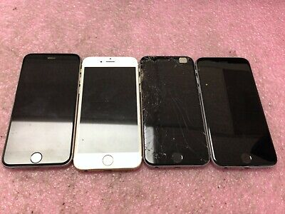$ CDN127.16 • Buy Lot Of 4 Apple IPhone 6 6s *Untested/For Parts* | AP550