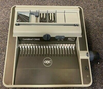 £299.99 • Buy GBC CombBind C366E Premium Electric A4 Or A5 Comb Binder NEXT DAY DELIVERY