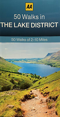 The 50 Walks In The Lake District By AA Publishing (Paperback, 2013) • 6.50£