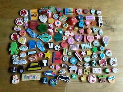 Large Collection Of Novelty Erasers Rubbers  • 2£