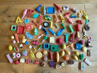 Large Collection Of Vintage? Novelty Erasers Rubbers  • 2£