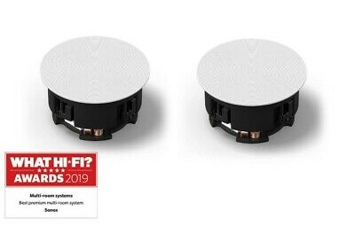 (Sonos In-Ceiling By Sonance X2 Speakers Brand New - INCLGWW1 2 Year Guarantee) • 378£