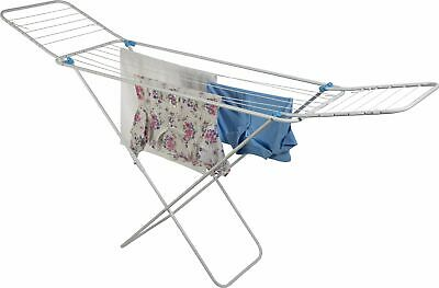 Minky 14m Balcony Indoor Clothes Airer - White • 15£