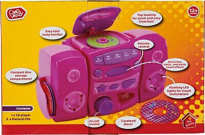 £9 • Buy Chad Valley CD Player - Pink.