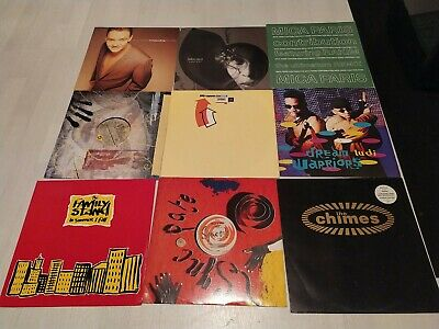 9x VINYL RECORDS ELECTRONIC HIP HOP FUNK SOUL 808 STATE SUPERB FREE UK POSTAGE!! • 14.99£