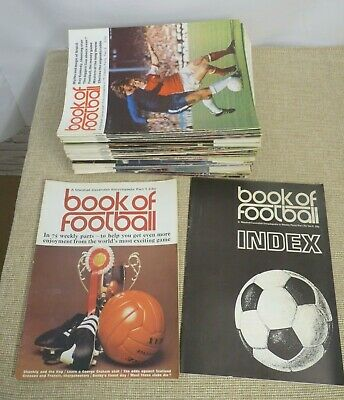 Marshall Cavendish - Book Of Football - Full Set 75 Magazines | Thames Hospice • 15£