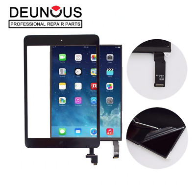 For IPad Mini 1 / 2 Touch Screen Digitizer Glass Replacement + IC Black +Tools • 9.75£